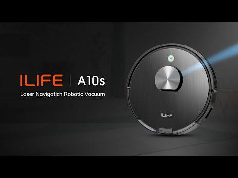 Quảng cáo Robot hút bụi lau nhà iLife A10