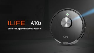 ILIFE A10s Laser Navigation Ro…