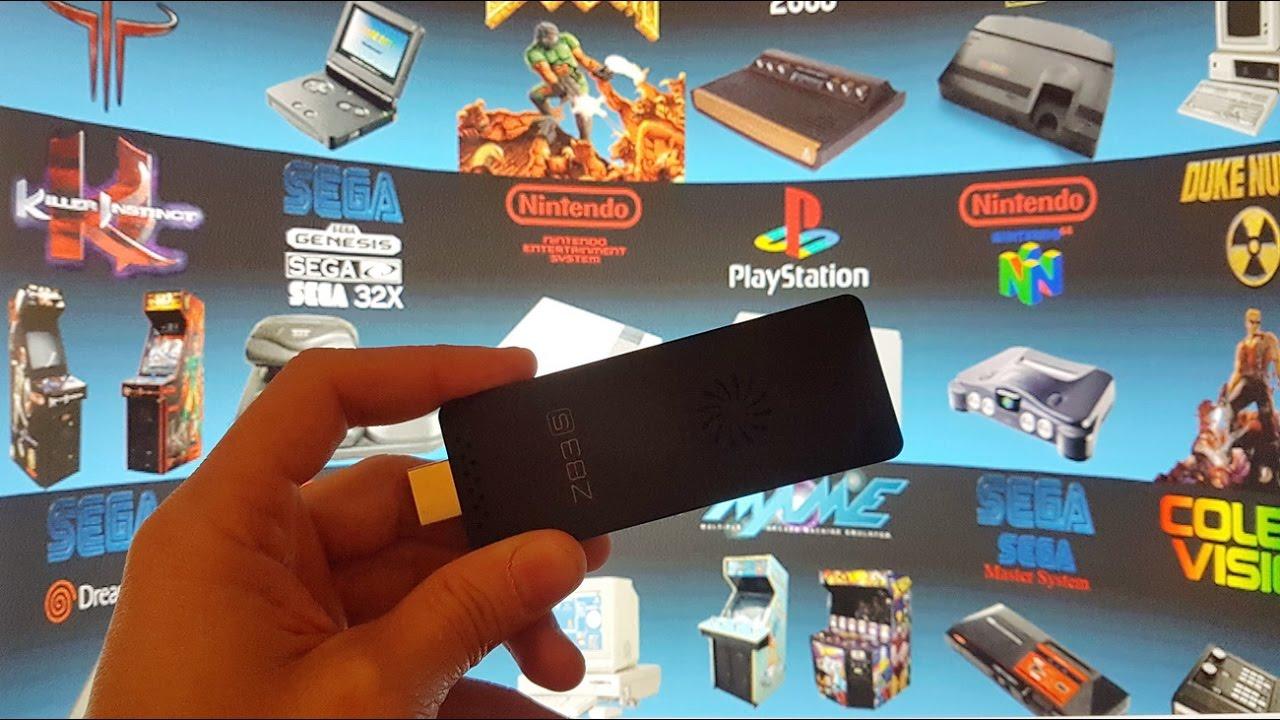 Z83S Mini PC With Emulators - Windows 10 - Intel Atom X5-Z8350 2GB