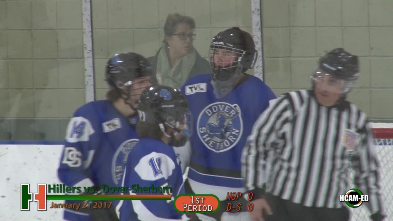 Hiller Varsity Hockey Vs Dover Sherborn Youtube