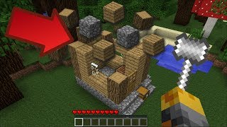 Minecraft SELF BUILDING HOUSES MOD / WATCH A BUILDING CREATE ITSELF IN-FRONT OF YOU!! Minecraft