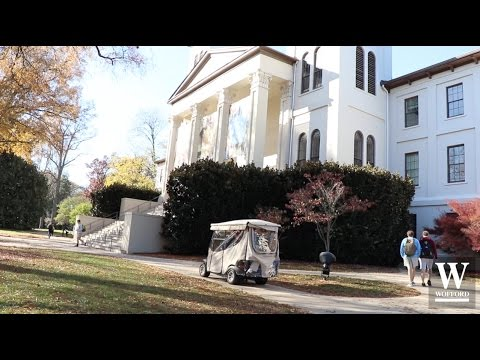 Wofford College Golf Cart Karaoke