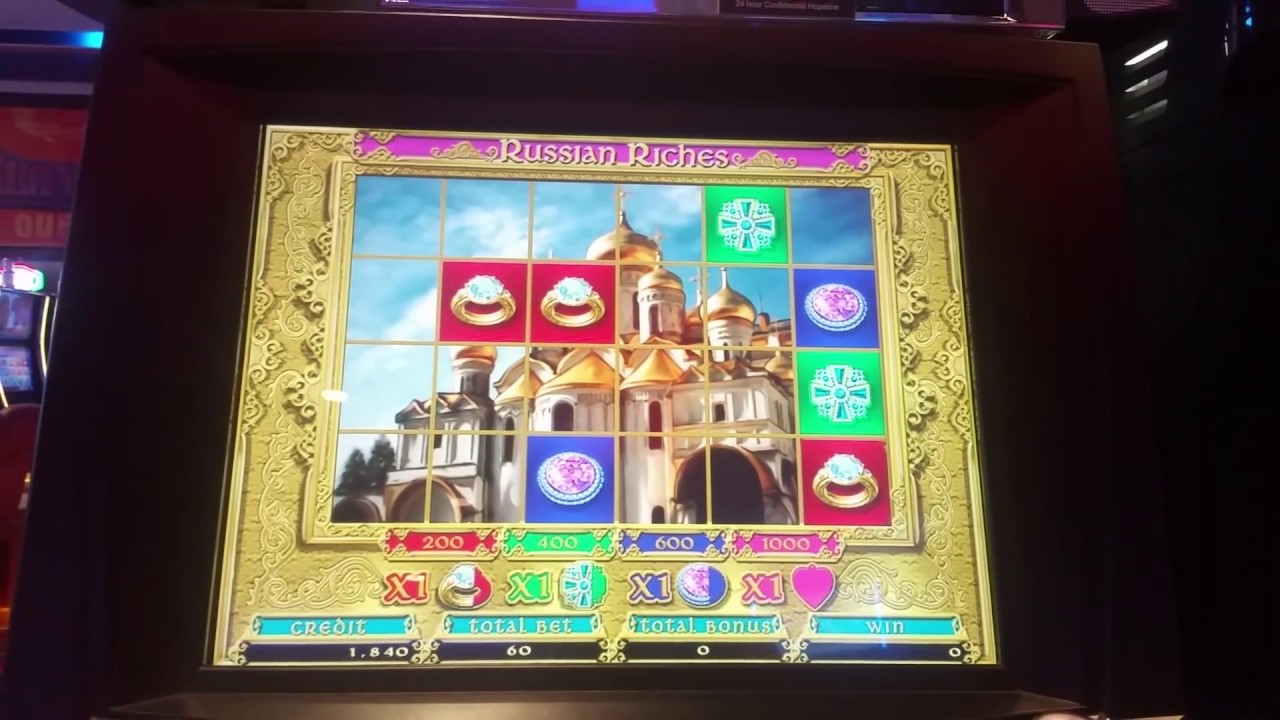 Russian Treasure Slot Machine