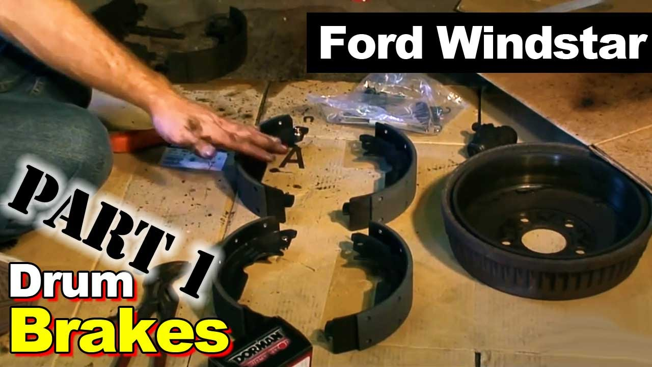 2002 Ford Windstar Rear Brake Hardware Part 1  YouTube