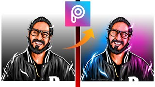 #vectorart #picsart #editing picsart editing tutorial ll how to add dual tone effect  || vector art