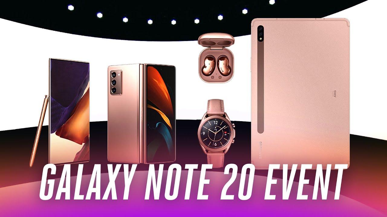 Download Samsung Galaxy Note 20 event in under 9 minutes
