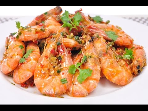 Salt and Pepper Shrimp (Thai Food) – Kung Pad Prik Glua กุ้งผัดพริกเกลือ