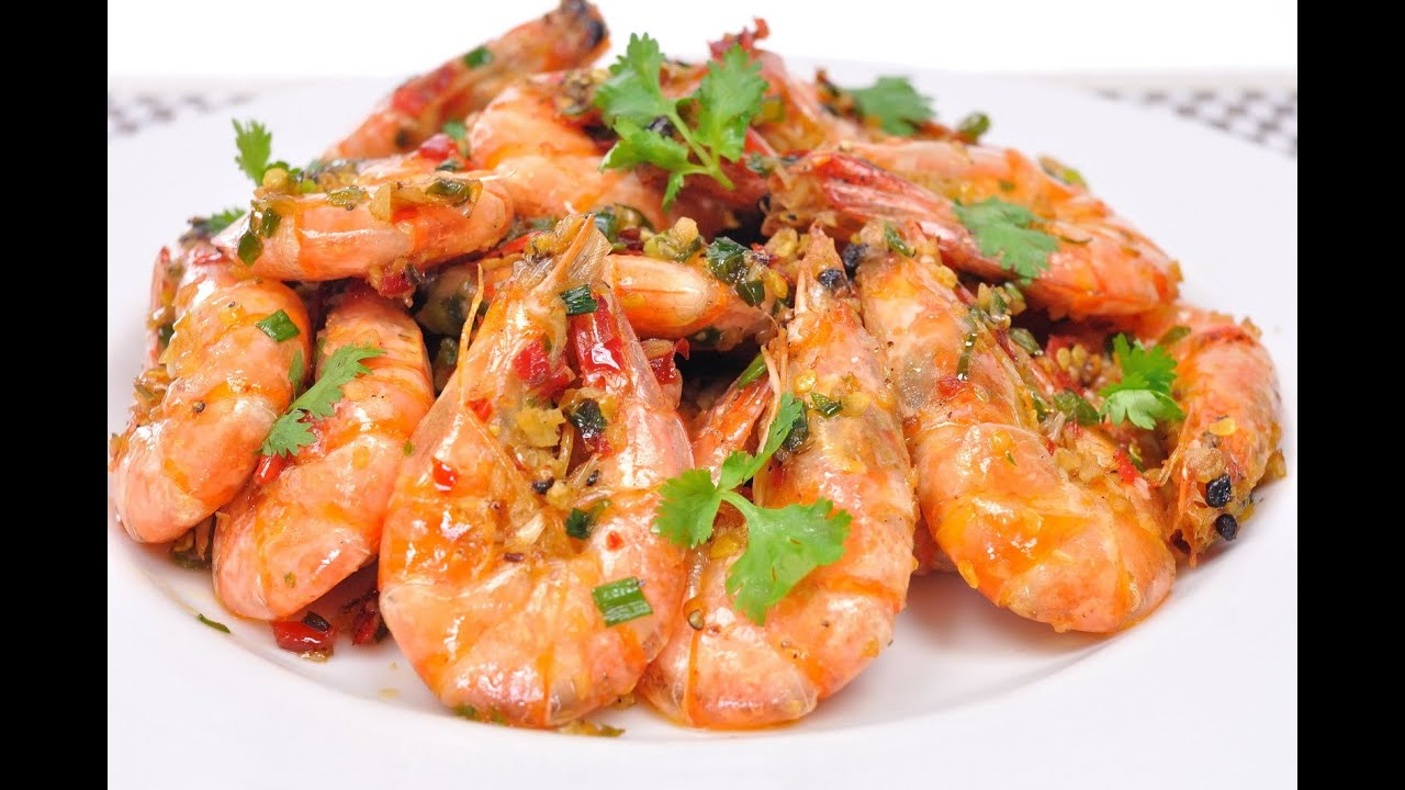 Salt and Pepper Shrimp (Thai Food) - Kung Pad Prik Glua ...