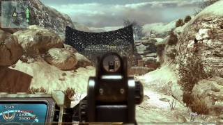 Modern Warfare 2 Gameplay PC Afghan (ACR w/ Heartbeat!)
