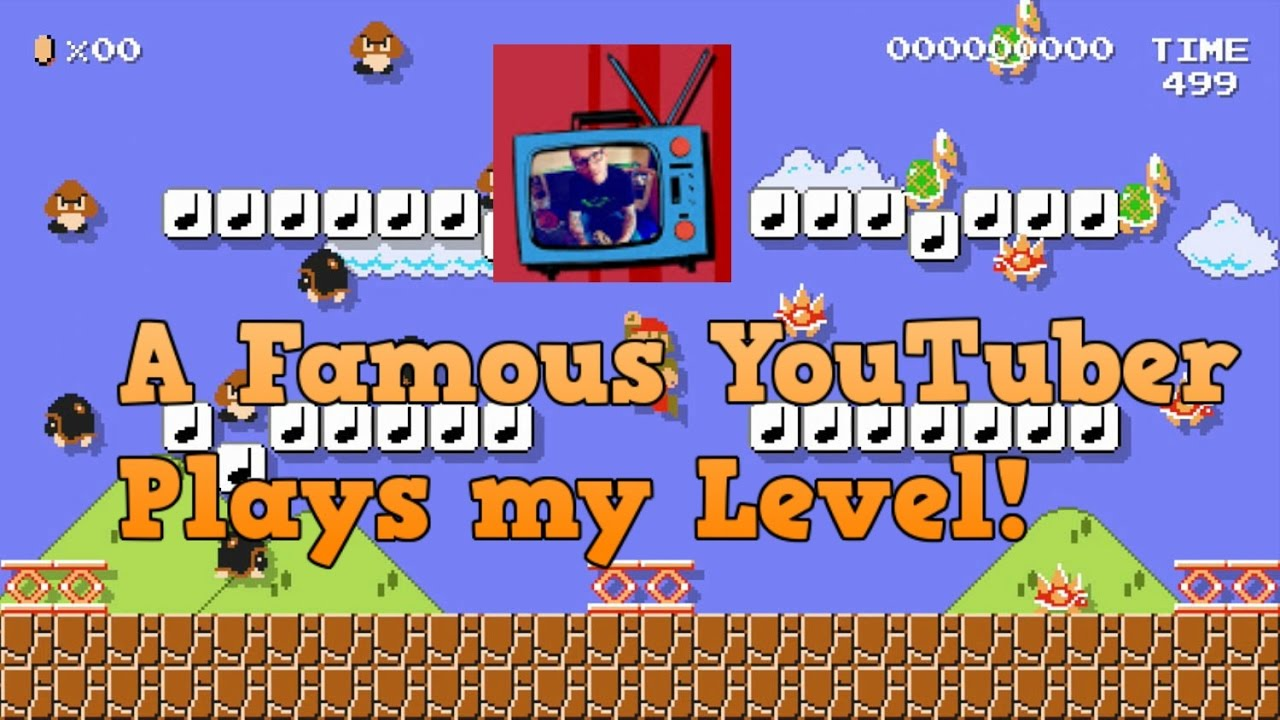 Blue Television Games Played my Level! - Super Mario Maker - YouTube
