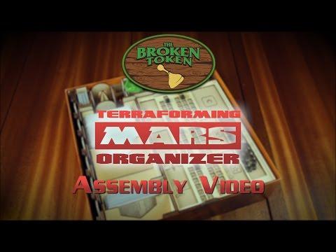 Terraforming Mars Organizer Assembly Video **New