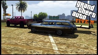 GTA 5 ROLEPLAY - DEMOLITION DERBY TIME AND WRECKED MY TRUCK... - EP. 493 - CIV