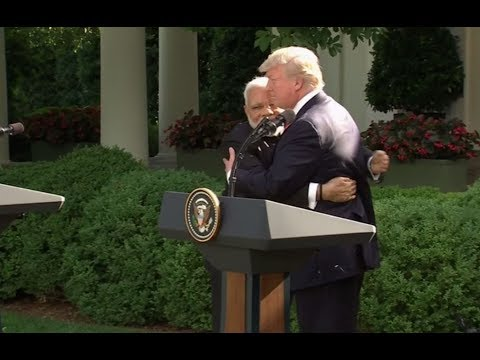 Watch Live: Trump and Indian Prime Minister Modi make joint statement at White House