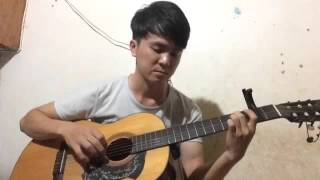 Chia tay tình đầu - guitar solo( Phương Thanh)