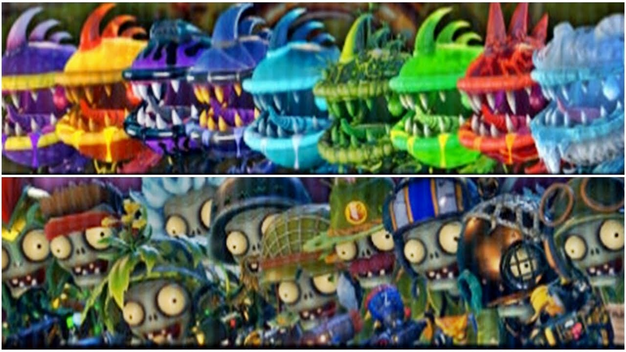 Plants Vs Zombies Garden Warfare All Chompers Garden Ftempo
