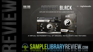 Ambient Black Review  -  Big Fish Audio / Funk Soul Productions