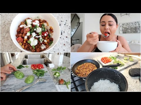 COOK & EAT WITH ME!