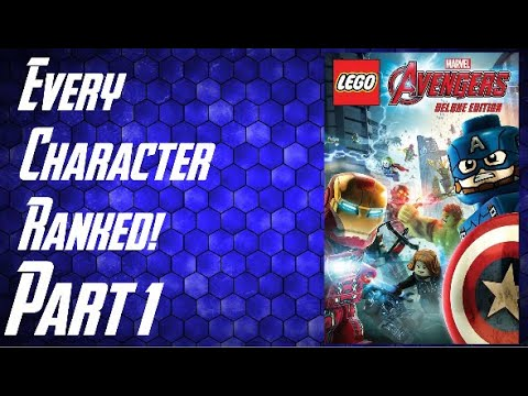 Download LEGO Marvel's Avengers - Every Character Ranked PART 1