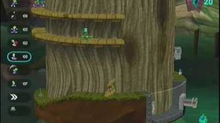 Lemmings Revolution Level 6-7 Another