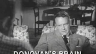Donovan's Brain Trailer 1953