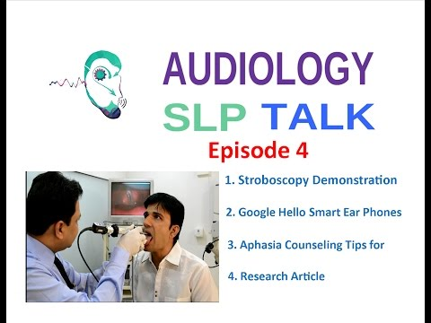 Audiology SLP Talk Episode 4 with Sunil & Sruthi