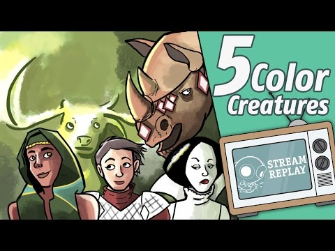 Five-Color Creatures in Modern!!!!