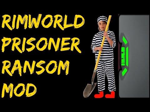 Rimworld Mod Guide: Prisoner Ransom Mod! Rimworld Mod Showcase