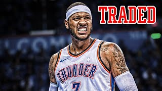 CARMELO ANTHONY TRADED! OKC Thunder Make AMAZING DEAL! | NBA NEWS
