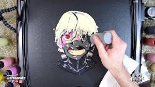 Tokyo Ghoul (Kaneki) Pancake Art