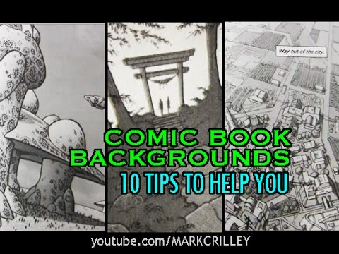 How to Make Comics: Backgrounds / 10 Tips to Help You