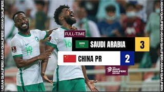 Саудовская Аравия  3-2  Китай видео