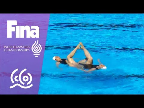 RE-LIVE - Synchro Day 2: Duo Tech | FINA World Masters Championships 2017 - Budapest