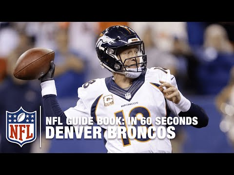 The Denver Broncos: The Orange Crush | In 60 Seconds | NFL