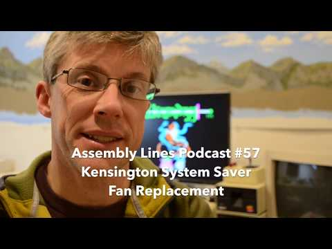 Assembly Lines #57: Kensington System Saver Fan Replacement