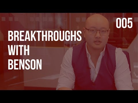 MOTIVATION, GETTING B2B CLIENTS, AND BUSINESS GROWTH STRATEGIES I BREAKTHROUGHS WITH BENSON 005