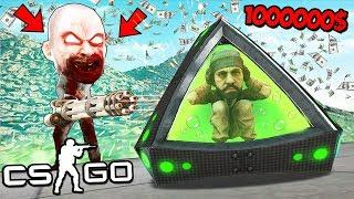 Кто Последний Умрет Получит 10.000$ От Богатого Маньяка В Cs:Go