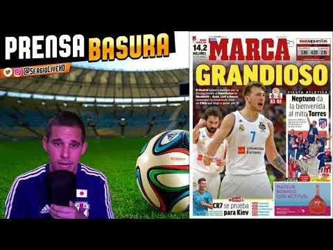 EL REAL MADRID EN 2 FINALES DE COPA DE EUROPA (BASKET + FUTBOL) + #PRENSABASURA TAPA LA CORRUPCIÓN - 동영상
