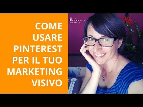 Come usare Pinterest per il tuo marketing visivo
