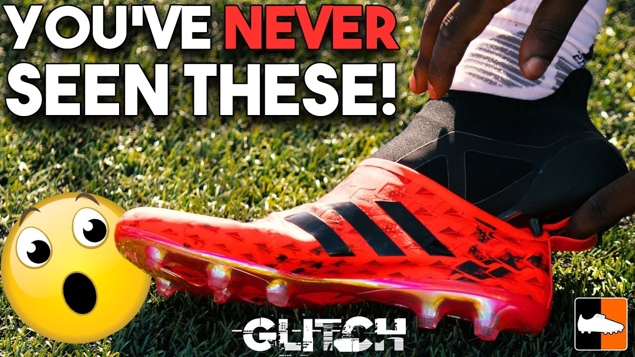 07d5b2a5dec adidas Glitch Revolutionary Football Boots! Interchangeable Soccer Cleats -  YouTube