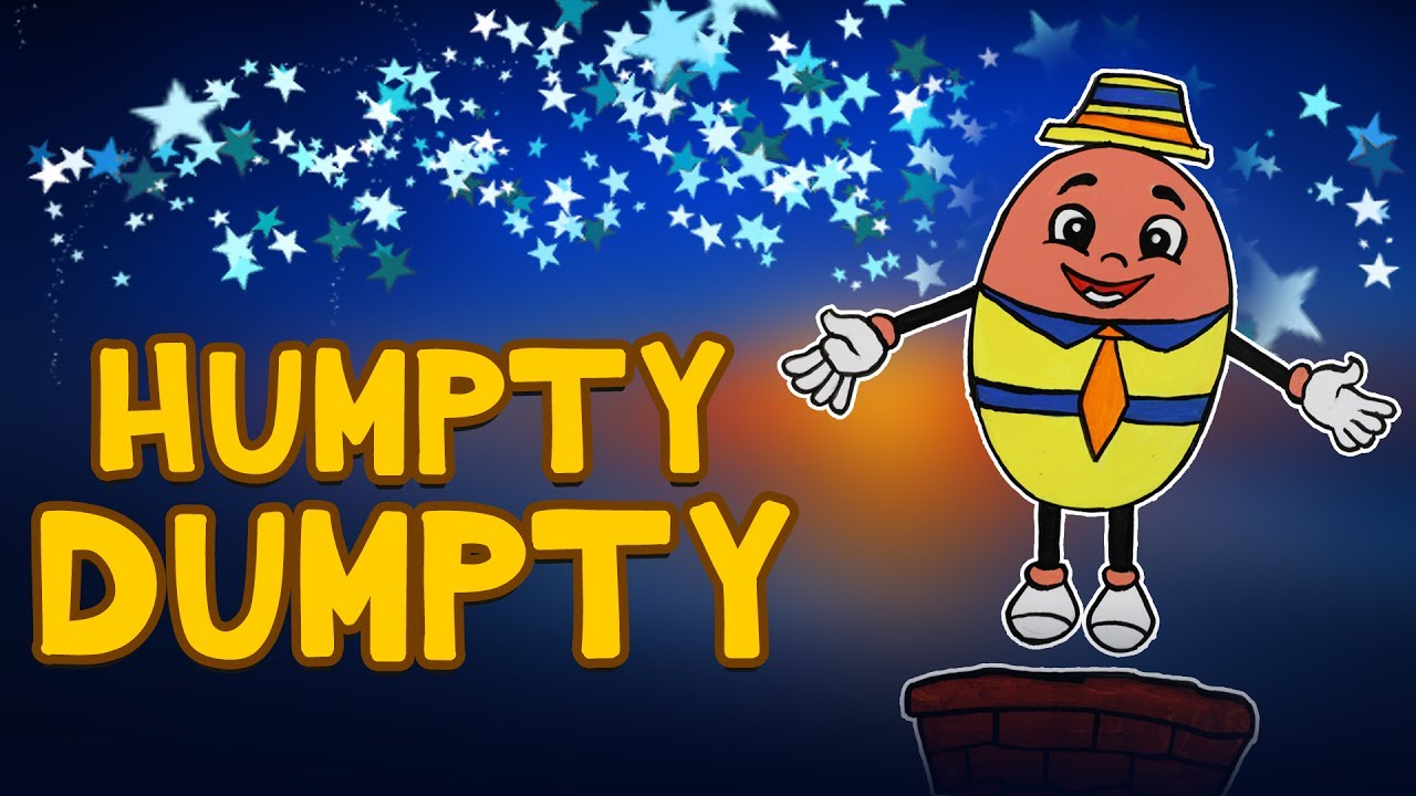 learn colors humpty dumpty coloring humpty dumpty rhyme nursery