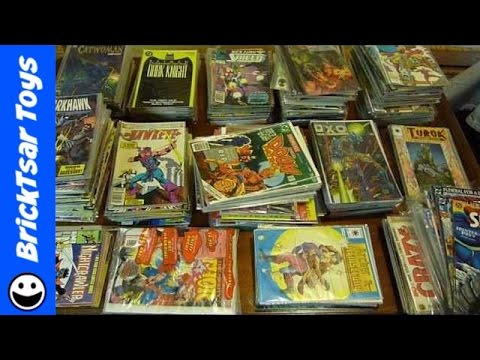 How I get my comic books ready to sell on Ebay - Some Turok and X-O Manowar
