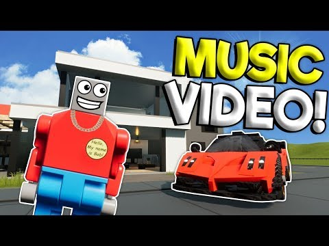 HOW TO BECOME A FAMOUS LEGO YOUTUBER! - Brick Rigs Roleplay Gameplay - Lego City Music Video
