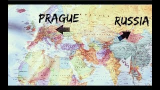 THE FINAL MONGOL RALLY ROUTE!! 10,000+ MILES!!