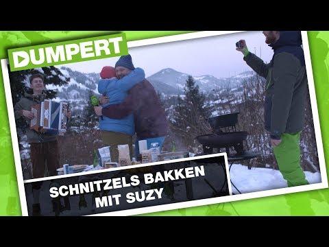 DumpertTV aus Tirol: Schnitzels backen mit Nick!