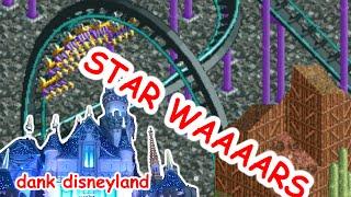 Dank Disneyland - Star Wars Land & Frontierland (RollerCoaster Tycoon 2)