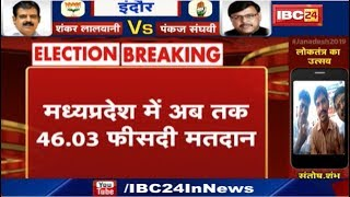 Loksabha Election 2019 : Madhya Pradesh में अब तक 46.03 फीसदी मतदान