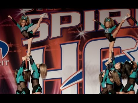 Cheer Extreme Raleigh ~ Youth 4 ~ Shark Bites ~ SOH 2017
