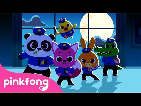 Pinkfong The Police | Game Play | Kids App | Pinkfong Game | Pinkfong Kids App Games
