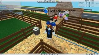 How to get the jailed achievement in Roblox Theme Park Tycoon 2