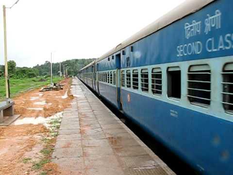 Punalur-Kollam Passenger Train at Punalur, Kerala